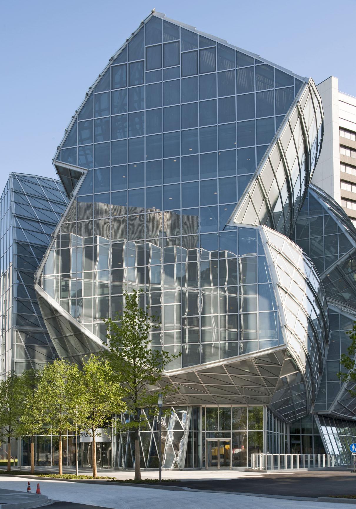 Clauss Markisen Projekt Gmbh Novartis Gehry Building Basel